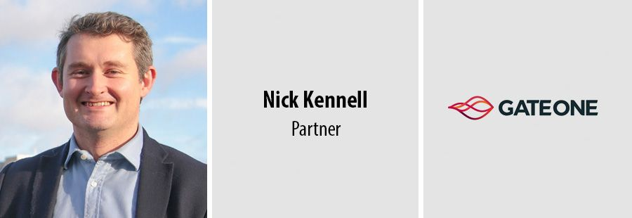Gate One promotes Nick Kennell to Partner