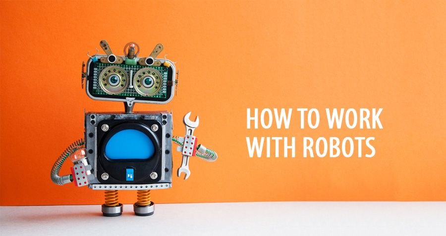 How to work with robots: a perspective from First Consulting