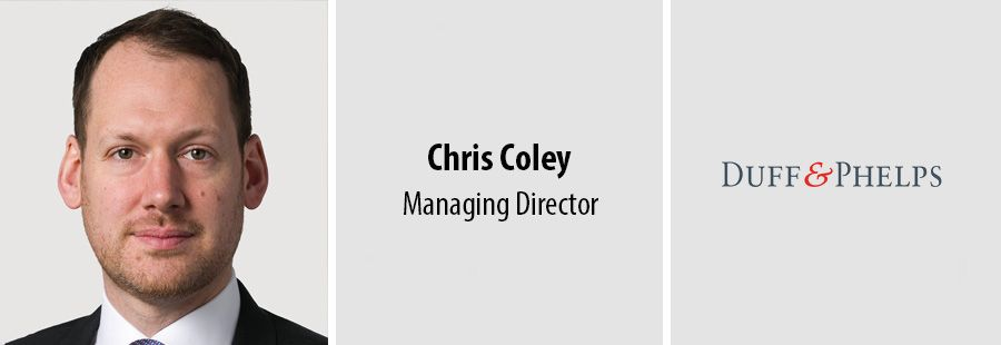 Chris Coley, Managing Director at Duff & Phelps