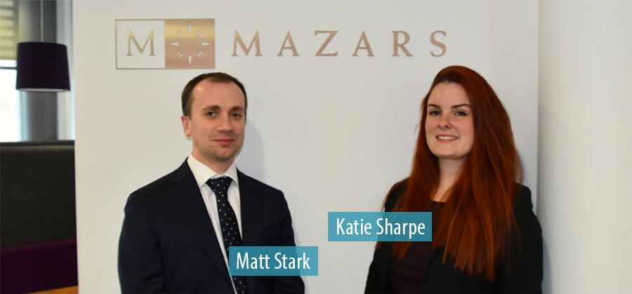 Matt Stark and Katie Sharpe - Mazars