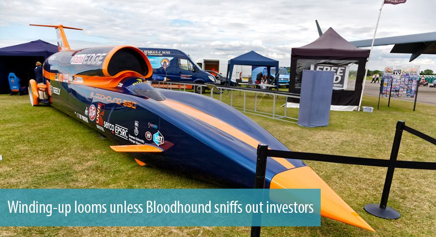 Winding-up looms unless Bloodhound sniffs out investors