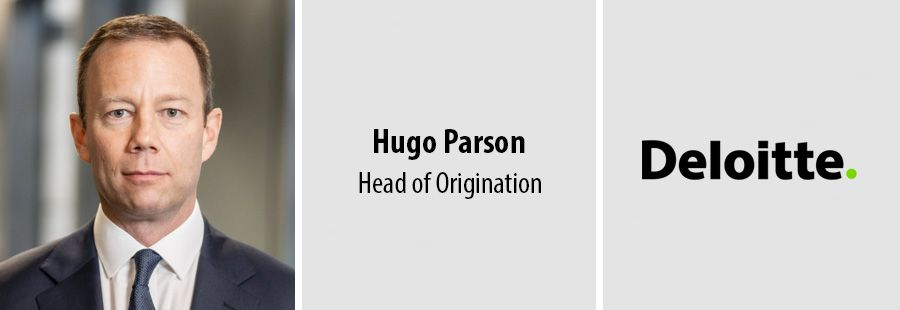 Hugo Parson to lead origination team at Deloitte