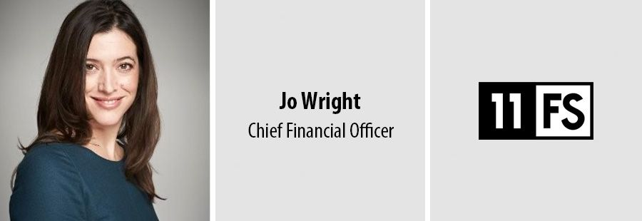 Jo Wright named CFO as 11:FS continues expansion