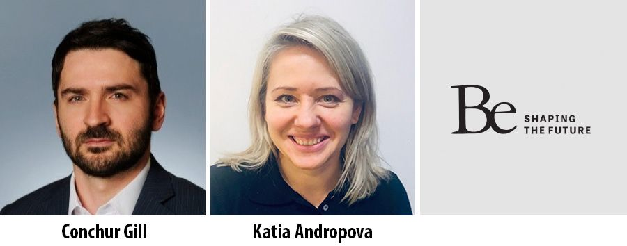 Conchur Gill and Katia Andropova join consulting firm Be