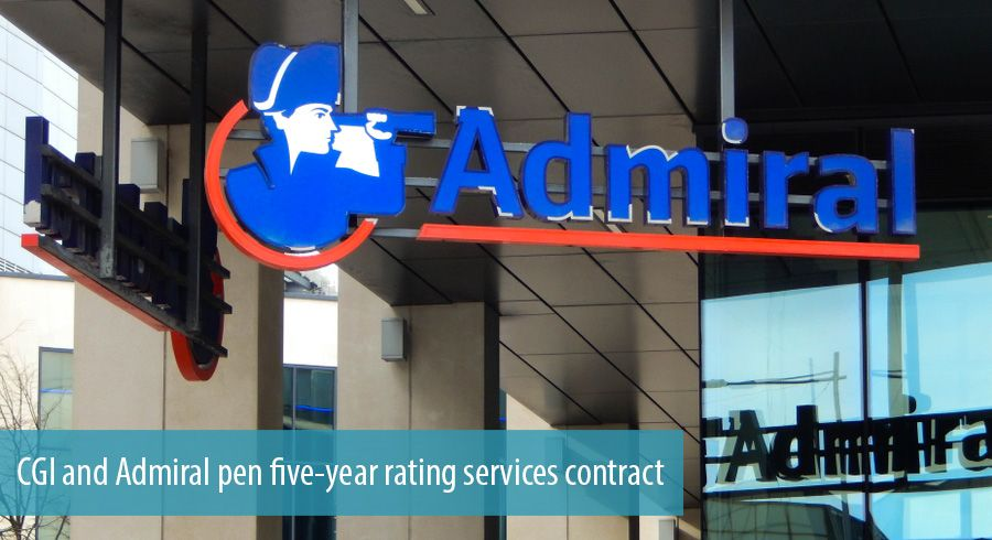 CGI and Admiral pen five-year rating services contract