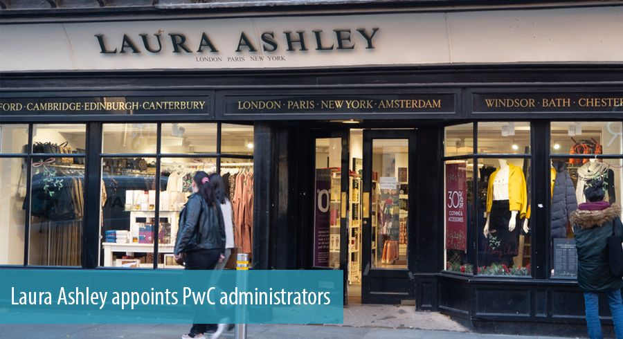 Laura Ashley appoints PwC administrators