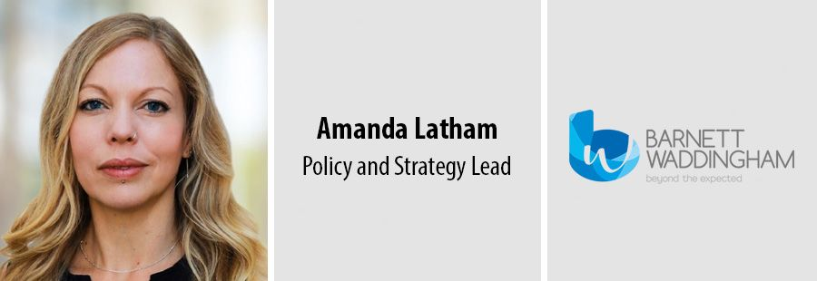 Amanda Latham, Policy and Strategy Lead at Barnett Waddingham