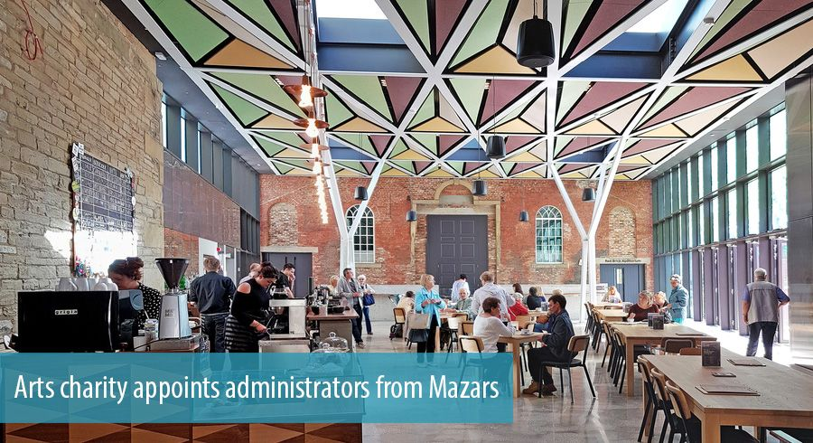 Arts charity appoints administrators from Mazars