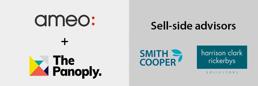 Smith Cooper Corporate Finance advises Ameo on Panoply sale