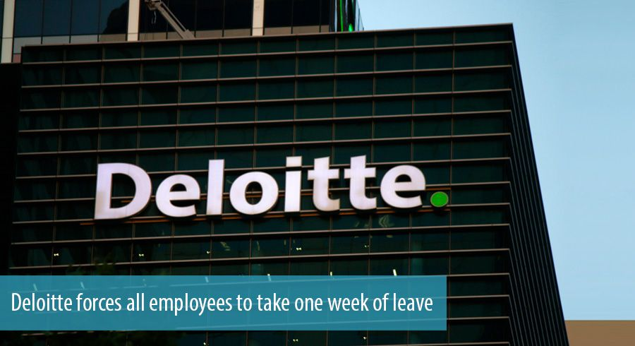 Deloitte forces all employees to take one week of leave