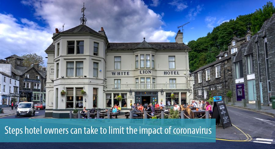 Steps hotel owners can take to limit the impact of coronavirus