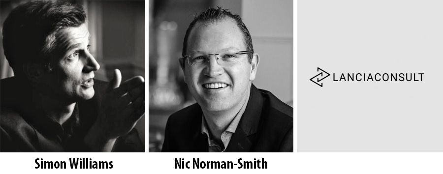 Simon Williams and Nic Norman-Smith - LanciaConsult