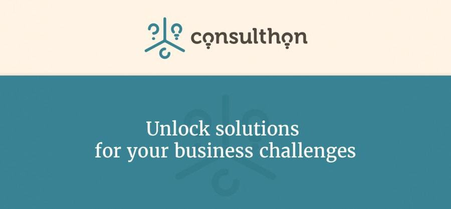 Consulthon - Unlock solutions for your business challenges