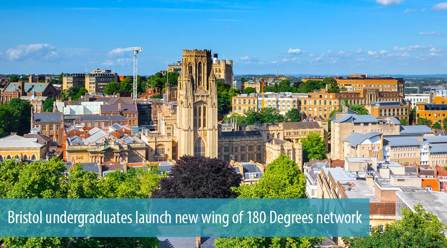 Bristol undergraduates launch new wing of 180 Degrees network