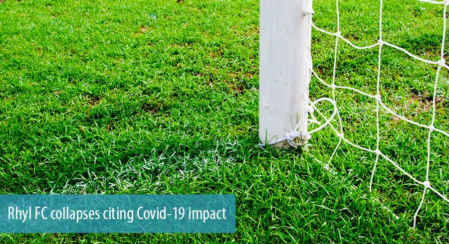 Rhyl FC collapses citing Covid-19 impact