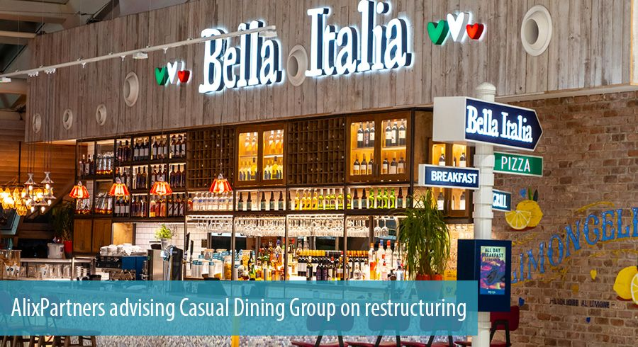 AlixPartners advising Casual Dining Group on restructuring