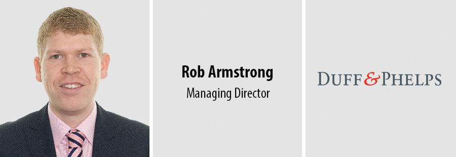 Rob Armstrong, Managing Director at Duff & Phelps