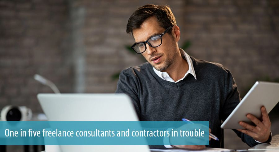 One in five freelance consultants and contractors in trouble