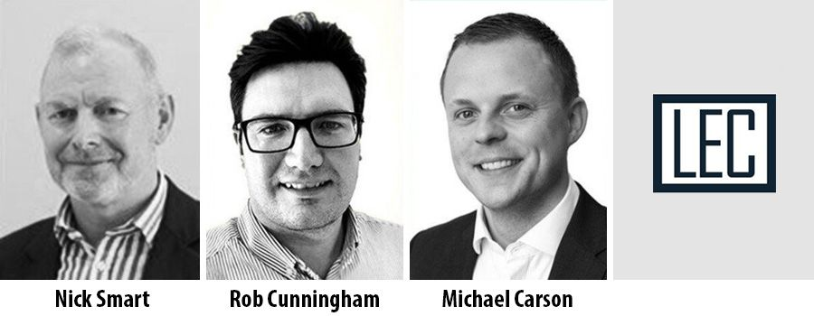 Nick Smart, Rob Cunningham and Michael Carson - Libra Europe Consulting