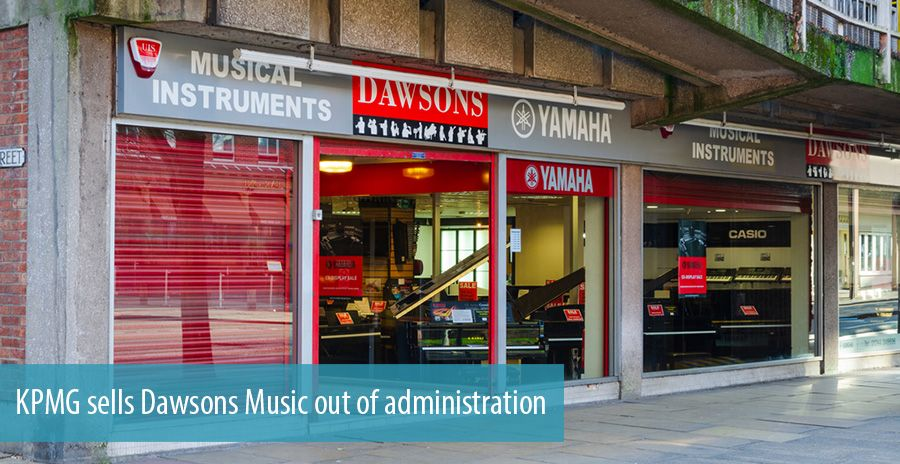 KPMG sells Dawsons Music out of administration