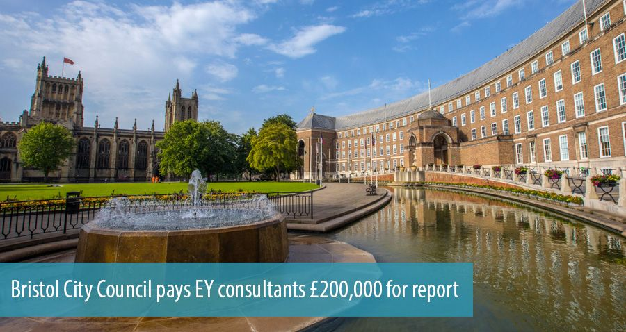 Bristol City Council pays EY consultants £200,000 for report