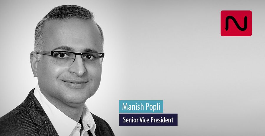 Manish Popli has joined InspireXT as a Senior Vice President