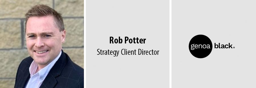 Rob Potter joins Genoa Black as Strategy Client Director