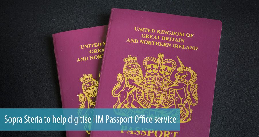 Sopra Steria to help digitise HM Passport Office service