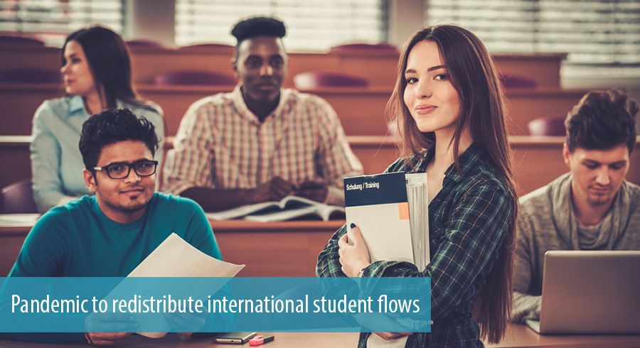 Pandemic to redistribute international student flows