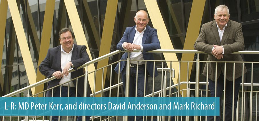 Peter Kerr, David Anderson and Mark Richard