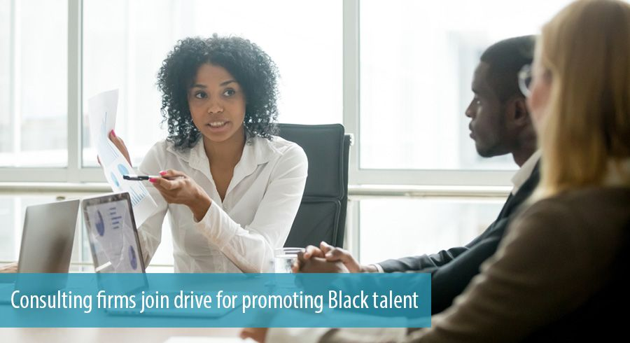 Consulting firms join drive for promoting Black talent