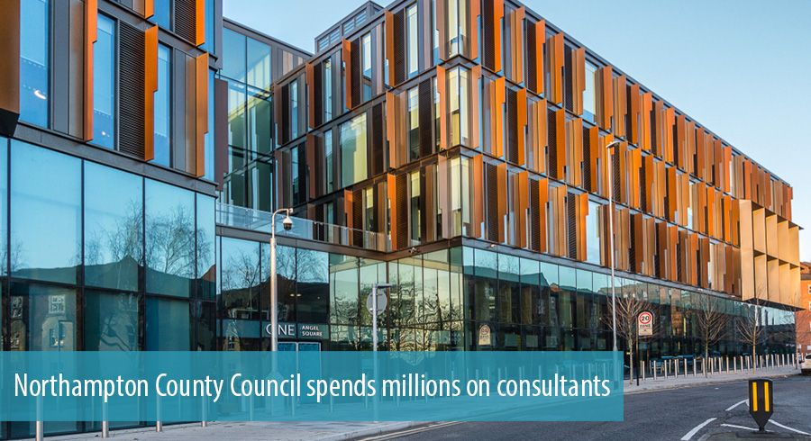 Northampton County Council spends millions on consultants