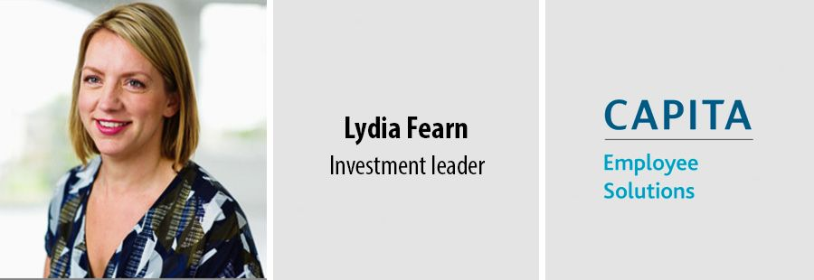 Lydia Fearn, Investment leader, Capita Employee Solutions