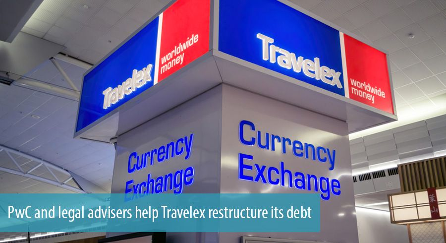PwC and legal advisers help Travelex restructure its debt