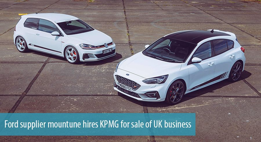 Ford supplier mountune hires KPMG for sale of UK business