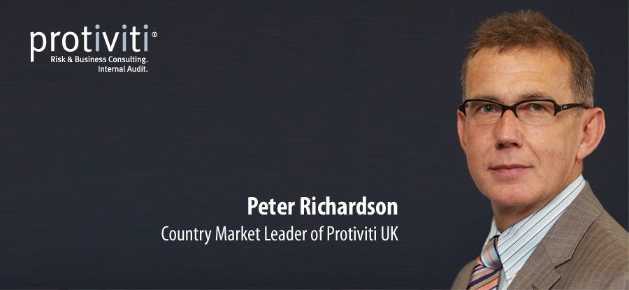 Protiviti's UK boss Peter Richardson