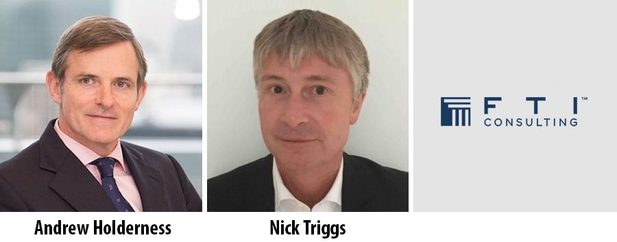 FTI Consulting appoints Andrew Holderness and Nick Triggs