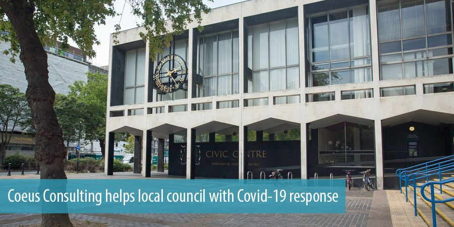 Coeus Consulting helps local council with Covid-19 response