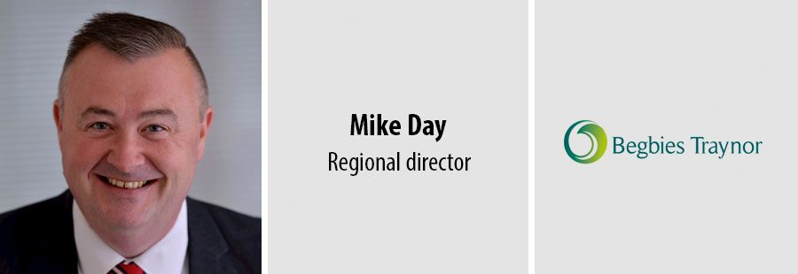 Mike Day, Regional director at Regbies Traynor