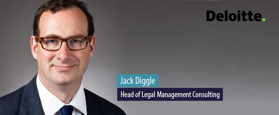 Jack Diggle, Head of Legal Management Consulting, Deloitte