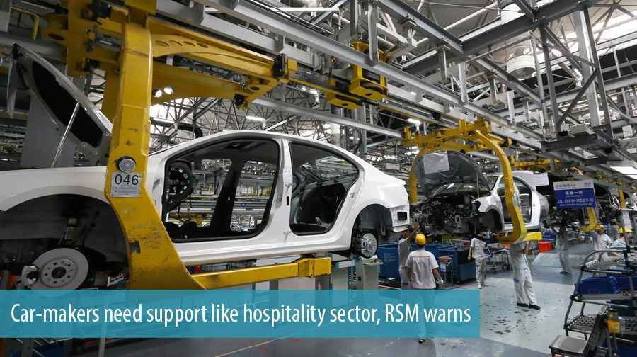 Car-makers need support like hospitality sector, RSM warns