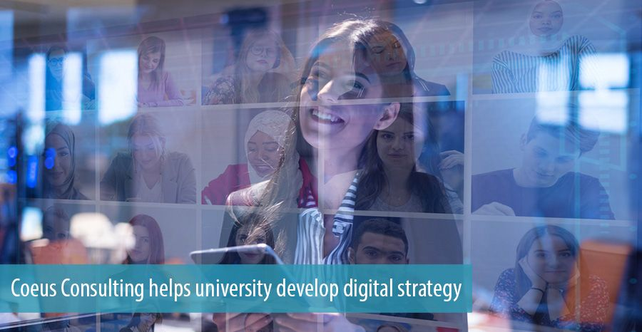 Coeus Consulting helps university develop digital strategy