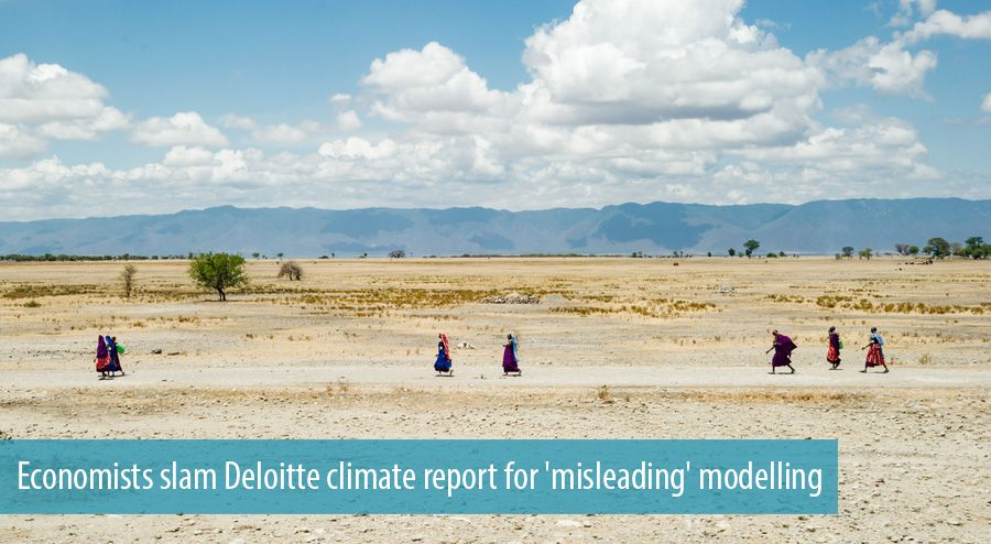Economists slam Deloitte climate report for 'misleading' modelling