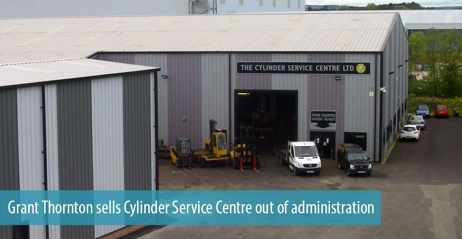 Grant Thornton sells Cylinder Service Centre out of administration