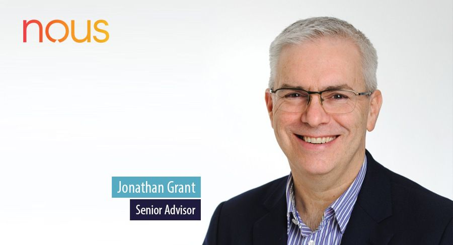 Jonathan Grant, Senior Advisor, Nous Group