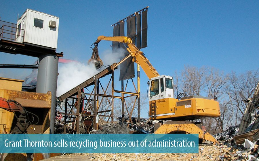 Grant Thornton sells recycling business out of administration