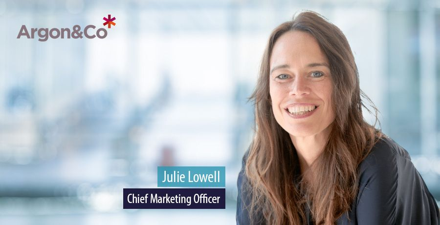 Julie Lowell, Chief Marketing Officer, Argon & Co