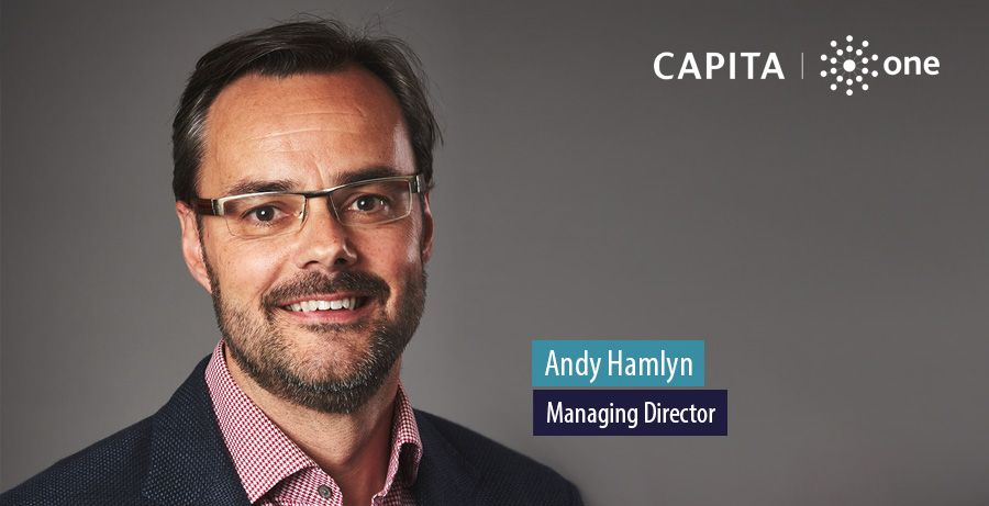Andy Hamlyn, Managing Director of Capita One