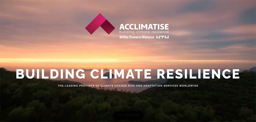 Acclimatise acquired by Willis Towers Watson