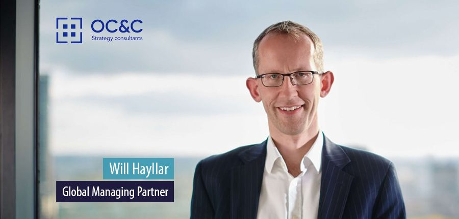Will Hayllar, Global Managing Partner, OC&C Strategy Consultants